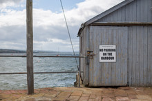 Fishing Shed On A Dock In The ...