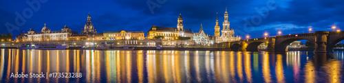 Plakat Panoramiczny obraz Drezno, Niemcy