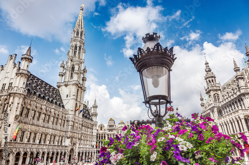 Foto auf Gartenposter Brussel The Grand Place in Brussels, Belgium