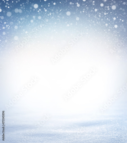 Soft snow background