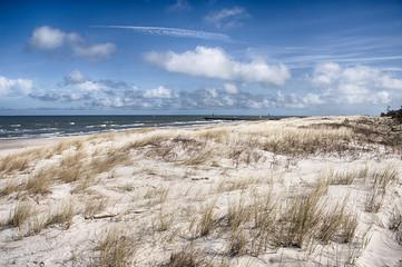 Leba beach