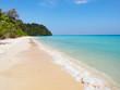 Pristine beach on Koh Rok island in southern Thailand