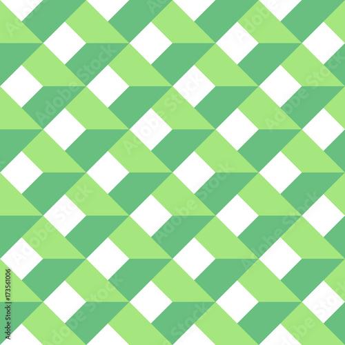 3d-wektorowy-abstrakcjonistyczny-bezszwowy-wzor-zielona-siatka