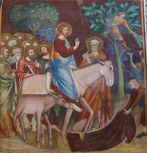 Fresco In San Gimignano - Jesu...