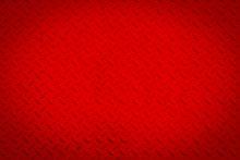 Red Metal Steel Texture.