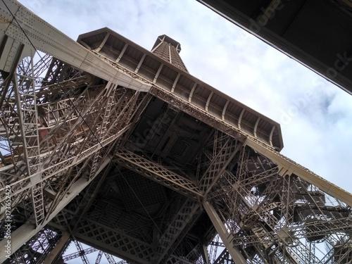 Obraz na dibondzie (fotoboard) Eiffel