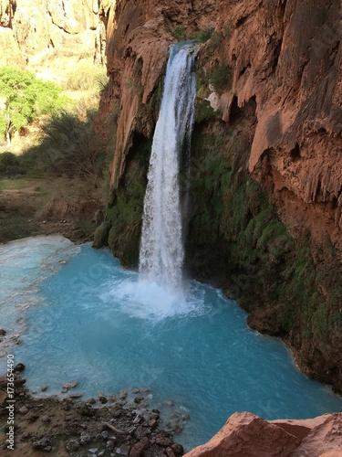 Fototapeten Wasserfalle water