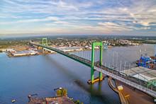 Aerial View Of Walt Whitman Bridge Philadelphia