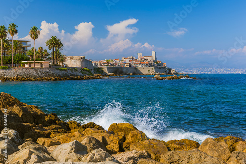 Photo Seascape of Antibes in Provence France