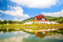The Royal Flora,Ho Kum Loung In Ratchaphruek Park Chiang Mai , Thailand.