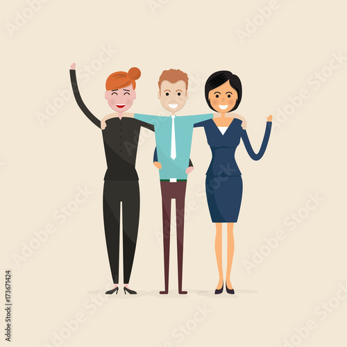 Adult Men Women Three Best Friends Happy Smiling Young Man And Woman Friends Happy Best Friends Meeting Happy Triple Icon Happy Friends Icon Friendly Hug And Friendship Concept Buy This Stock Vector And Explore Similar Vectors At Adobe Stock