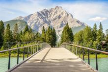 Footbridge In Banff, Banff Nat...