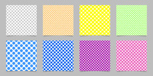 Color Seamless Polka Dot Patte...