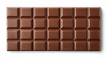 Milk Chocolate Bar Isolated On...