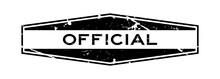 Grunge Black Official Wording ...