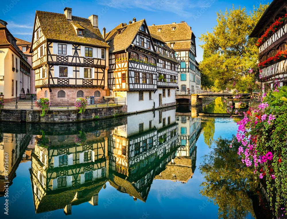 Fototapety, obrazy: Petite France in Strasbourg, France