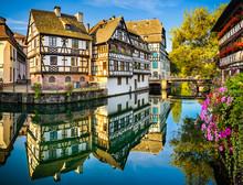 Petite France In Strasbourg, F...