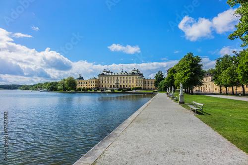 Fotografie, Obraz  External view of Drottningholm Palace in Stockholm, Sweden