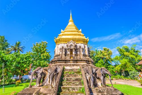 Wall Murals Temple Wat Chiang Man