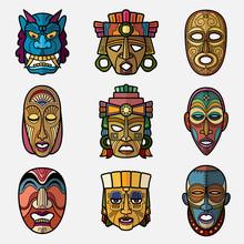 African Craft Voodoo Tribal Ma...