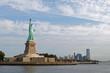 Statue De La Liberté et New Jersey