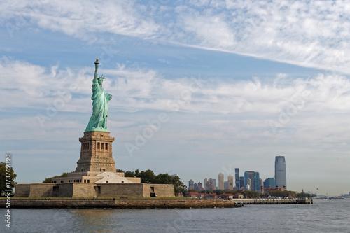 Obraz na dibondzie (fotoboard) Statua Wolności i New Jersey