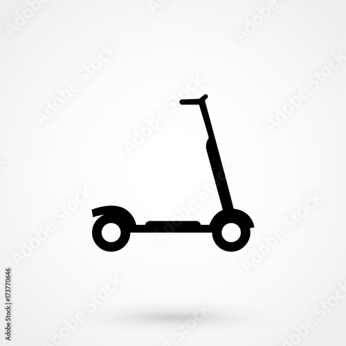 scooter icon simple illustration of scooter vector icon for web buy this stock vector and explore similar vectors at adobe stock adobe stock scooter vector icon for web