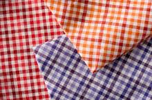 Pieces Of Plaid Cloth