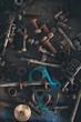 scrap screws in vehicle repair plant