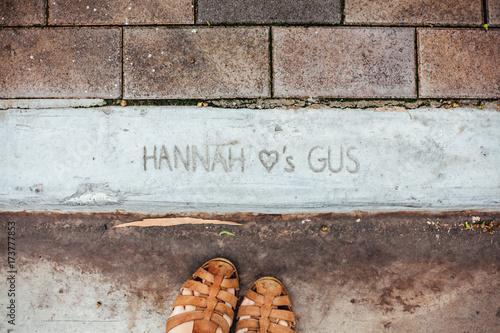 Hannah Hearts Gus Poster