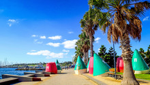Town Of Geelong Near Melbourne