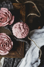Homemade Decorated Muffins