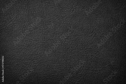 Fotobehang Stof Black leather texture
