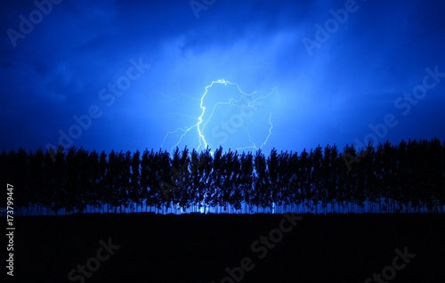Plakat Ride the Lightning w Tunuyan