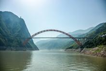 Wushan Yangtze River Bridge China
