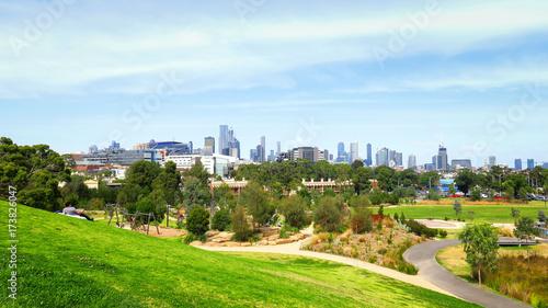 Photo  Exploring Melbourne in Victoria