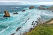 Broken coast at Liencres, Cantabria, Spain