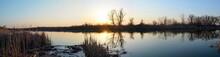 Sunset On The Lake, The Dark S...
