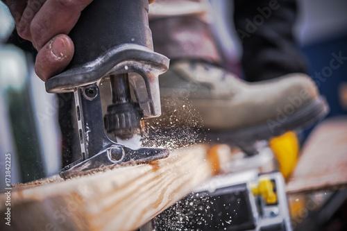 Valokuva  Wood Construction Tool