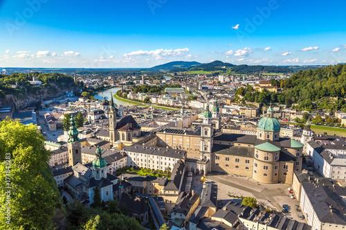 Staande foto Praag Panoramic view of Salzburg
