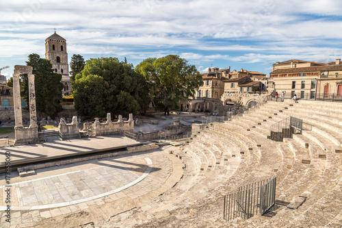 Roman amphitheatre in Arles, France Wallpaper Mural