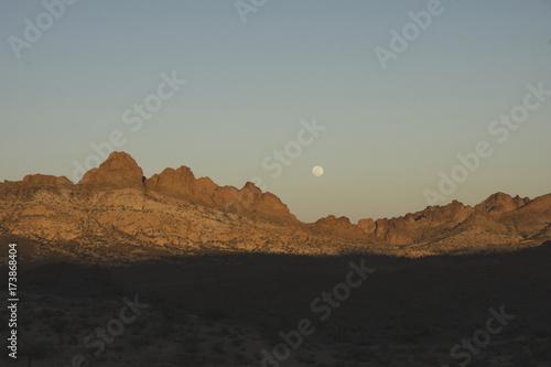 Desert Sunset, Nelson Ghost Town Poster