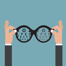 Hold Hands Glasses Optician, V...
