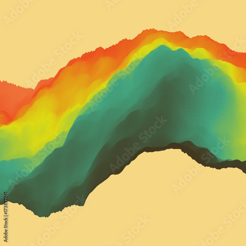Zdjęcie XXL 3D abstrakta tło. Efekt dynamiczny. Futurystyczny styl technologii. Ilustracja wektorowa ruchu.