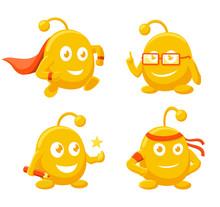 Mascot Character - Assistant