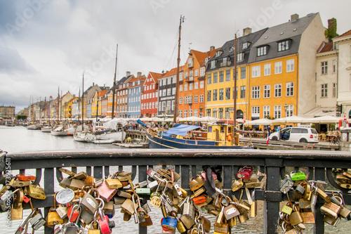 Photo  Stadtpanorama Kopenhagen Dänemark