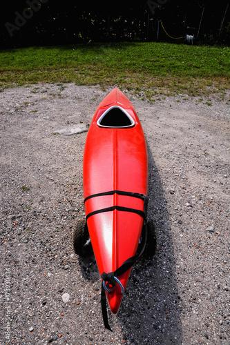 Fotografie, Obraz  kayak on the beach