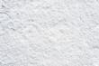Leinwanddruck Bild - Clean snow texture, winter background, white surface with snowflakes