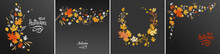 Autumn Leaves Dark Design