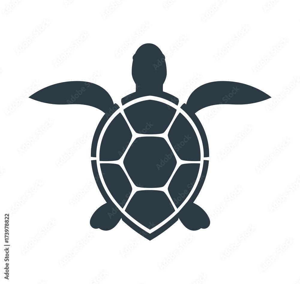 Fotografia Sea turtle icon.